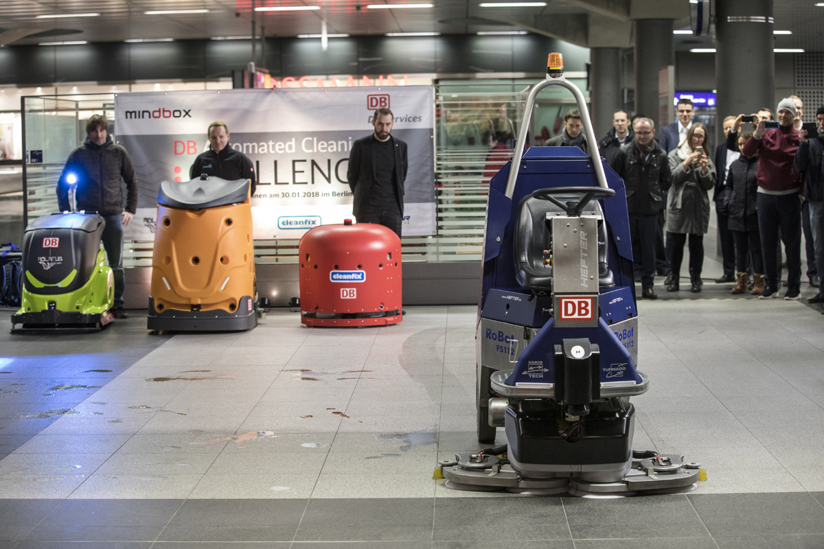 Deutsche Bahn - Automated Cleaning: Challenge